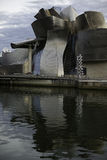 Guggenheim Bilbao na Espanha Fotos de Stock Royalty Free