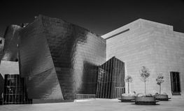 Guggenheim Bilbao. The Guggenheim Museum Bilbao is a registered trademark and that any use, commercial or non-commercial, needs prior authorization that might be Stock Photography