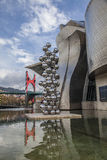 Guggenheim Bilbao. The Guggenheim Museum Bilbao is a registered trademark and that any use, commercial or non-commercial, needs prior authorization that might be Stock Photos