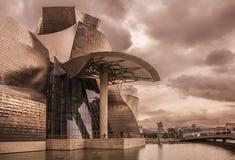 Guggenheim Bilbao. Photo of the Guggenheim Museum Bilbao Stock Photos