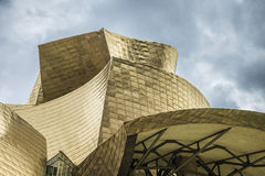 Guggenheim Bilbao. The Guggenheim Museum Bilbao is a registered trademark and that any use, commercial or non-commercial, needs prior authorization that might be Stock Photo