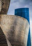 Guggenheim Bilbao. Photo of the Guggenheim Museum Bilbao Royalty Free Stock Photos