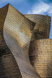 Guggenheim Bilbao. The Guggenheim Museum Bilbao is a registered trademark and that any use, commercial or non-commercial, needs prior authorization that might be Royalty Free Stock Photo