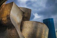 Guggenheim Bilbao. Photo of the Guggenheim Museum Bilbao Royalty Free Stock Photography