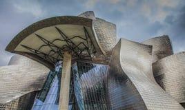 Guggenheim Bilbao. Photo of the Guggenheim Museum Bilbao Stock Images