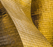 Guggenheim Bilbao. The Guggenheim Museum Bilbao is a registered trademark and that any use, commercial or non-commercial, needs prior authorization that might be Royalty Free Stock Image
