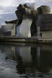 Guggenheim Bilbao in Spagna Fotografie Stock Libere da Diritti