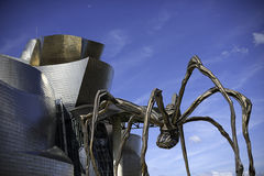 Guggenheim Bilbao in Spain Royalty Free Stock Image