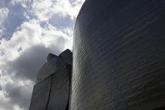 Guggenheim Bilbao in Spain Stock Photography