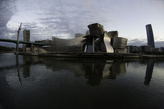 Guggenheim Bilbao in Spain Royalty Free Stock Photo