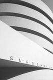 Guggenheim facade Royalty Free Stock Image