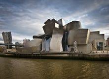 Guggenheim landscape. Bilbao, Spain - December, 04: Guggenheim landscape on December 04, 2011 in Bilbao stock photos