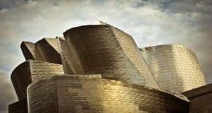 Guggenheim landscape. Bilbao, Spain - December, 04: Guggenheim landscape on December 04, 2011 in Bilbao stock photo