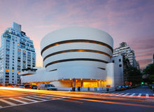 Guggenheim Musem. The Guggenheim Museum on 5th Ave was established in 1937, though the current museum building dates from 1959 and was designed by famed