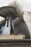 Guggenheim museum Royaltyfria Foton