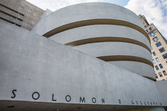 Guggenheim museum arkivbild