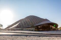 The Guggenheim Museum in Abu Dhabi. ABU DHABI, UAE - DEC 18: The Guggenheim Museum in Abu Dhabi. December 18, 2014 in Abu Dhabi, United Arab Emirates Stock Photos