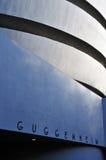 Guggenheim museum av modernt och samtida konst arkivbilder