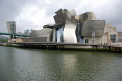 Guggenheim Museum in Bilbao Stockbild