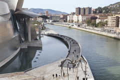 Guggenheim Museum Bilbao Royalty Free Stock Photography
