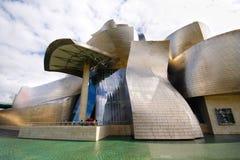 Guggenheim museum in Bilbao royalty free stock photos
