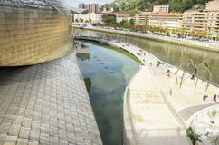 Guggenheim Museum, Bilbao Stock Photo