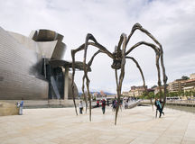 The Guggenheim Museum in Bilbao Royalty Free Stock Photography