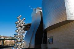 Guggenheim-Museum in Bilbao Lizenzfreie Stockfotos
