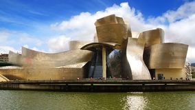 Guggenheim Museum Bilbao. royalty free stock photos