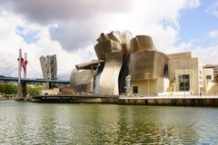 Guggenheim Museum Bilbao. royalty free stock images