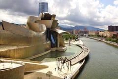 Guggenheim Museum Bilbao. Stock Photography