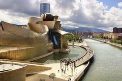 Guggenheim Museum Bilbao. stock photo