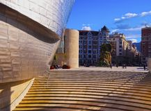 The Guggenheim Museum Bilbao Royalty Free Stock Image