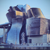 The Guggenheim Museum Bilbao Royalty Free Stock Images