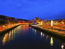 The Guggenheim Museum Bilbao Stock Image