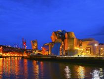 The Guggenheim Museum Bilbao Stock Photo