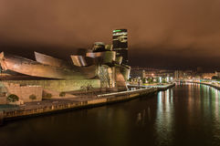 Guggenheim Museum Bilbao Royalty Free Stock Photos