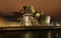 Guggenheim Museum Bilbao Royalty Free Stock Photo