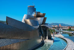 Guggenheim Museum Bilbao, Spain Stock Photos