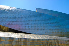 Guggenheim Museum Bilbao, Spain. Guggenheim Museum Bilbao, designed by Canadian-American architect Frank Gehry, is one of the most admired works of contemporary Royalty Free Stock Photography