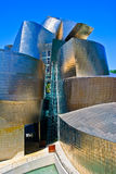 Guggenheim Museum Bilbao, Spain. The Guggenheim Museum Bilbao is a registered trademark and that any use, commercial or non-commercial, needs prior authorization Stock Photography