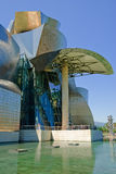 Guggenheim Museum Bilbao, Spain. Guggenheim Museum Bilbao, designed by Canadian-American architect Frank Gehry, is one of the most admired works of contemporary Stock Photos