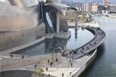 Guggenheim Museum in Bilbao, Spain   Stock Photo