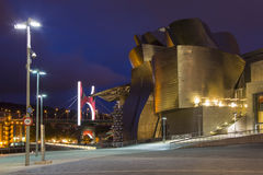 Guggenheim Museum - Bilbao - Spain Stock Image