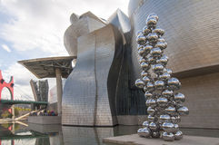 Guggenheim Museum in Bilbao,Spain Stock Photography
