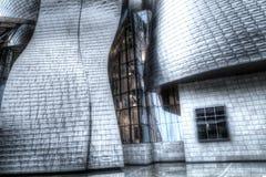 Guggenheim museum. In Bilbao, Spain Royalty Free Stock Photo