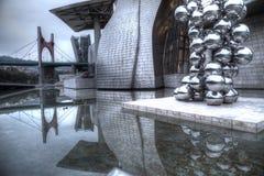 Guggenheim museum. In Bilbao, Spain Stock Photo