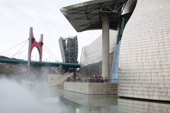 Guggenheim Museum Bilbao Stock Photos