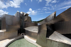 Guggenheim Museum in Bilbao, Spain Royalty Free Stock Images