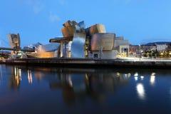 Guggenheim Museum in Bilbao, Spain Stock Photography